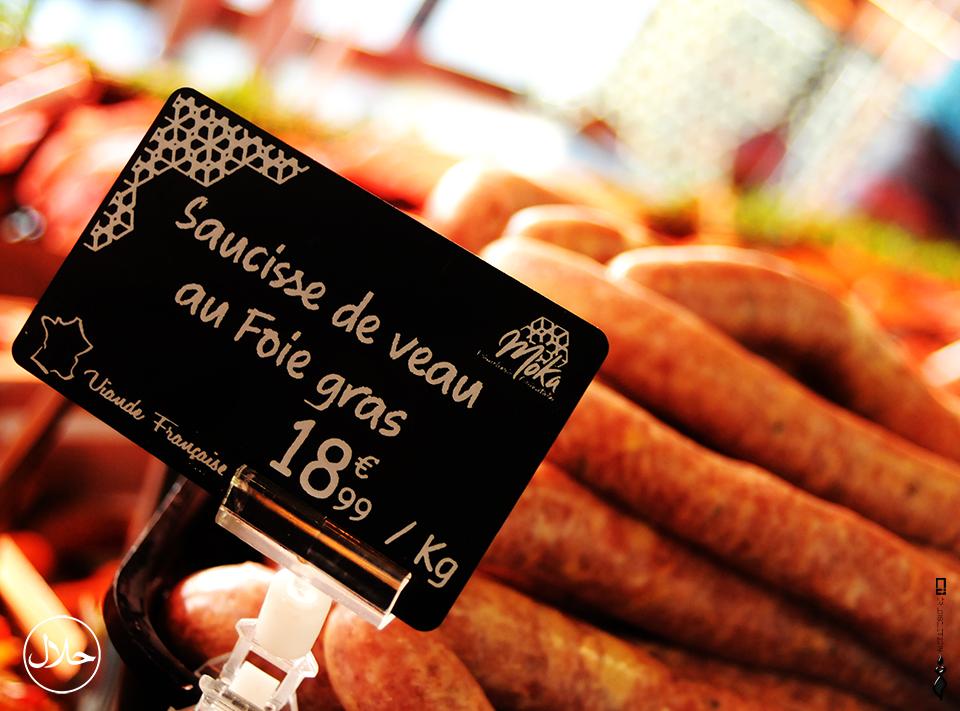 Saucisse de veau au foie gras by MOKA