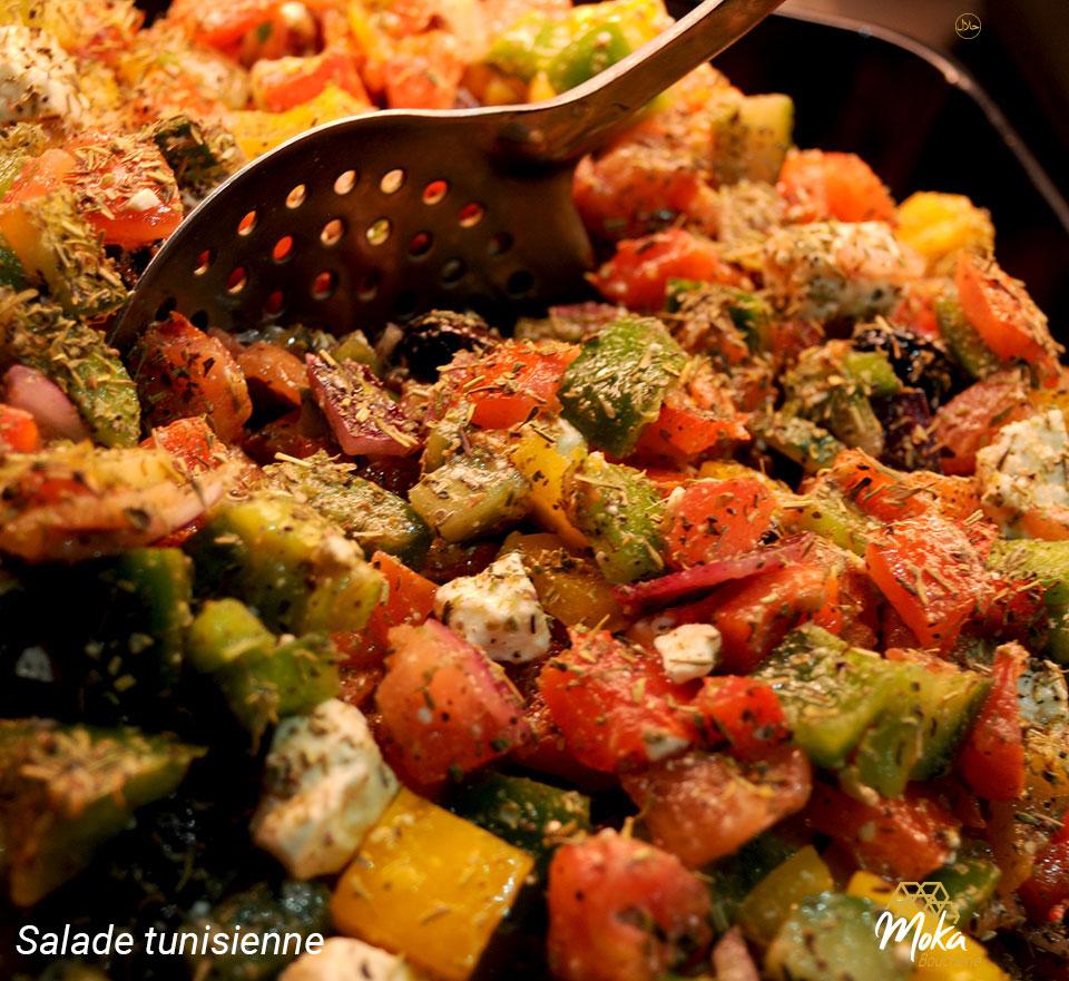 Salade MOKA Boucherie Orientale Saint-Nazaire