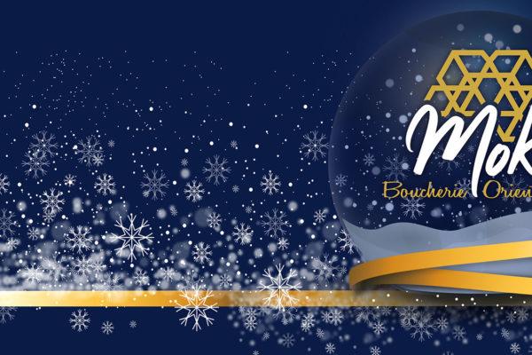 Carte de Noël 2020 MOKA Boucherie